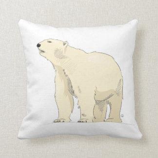Cojín Decorativo Amortiguador del oso polar