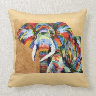 Cojín Decorativo Amortiguador del tiro con diseño del elefante