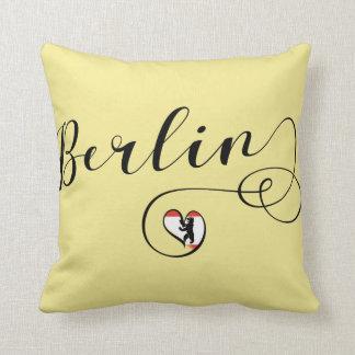 Cojín Decorativo Amortiguador del tiro del corazón de Berlín
