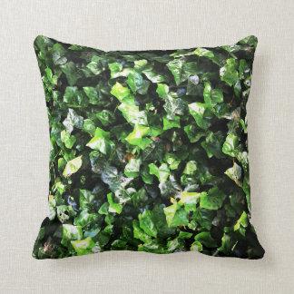 Cojín Decorativo Amortiguador hermoso verde enorme de la naturaleza