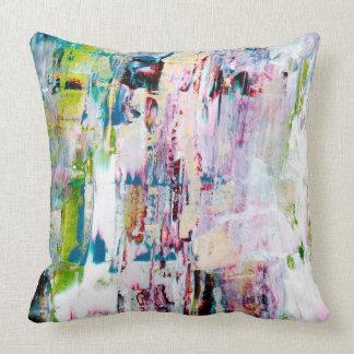 Cojín Decorativo Amortiguador multi del arte coloreado, abstracto