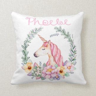 Cojín Decorativo Amortiguador personalizado del unicornio