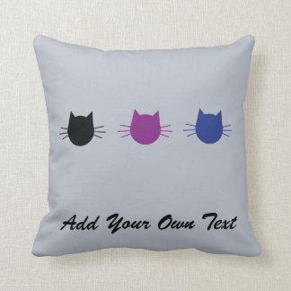 Cojín Decorativo Amortiguador personalizado gato de encargo del
