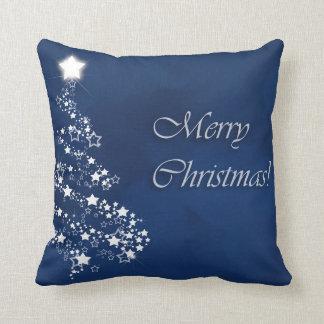 Cojín Decorativo Árboles chispeantes del navidad elegante