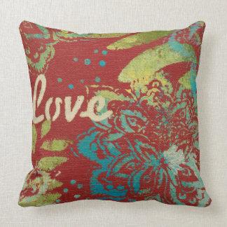 Cojín Decorativo Arte de la palabra - amor
