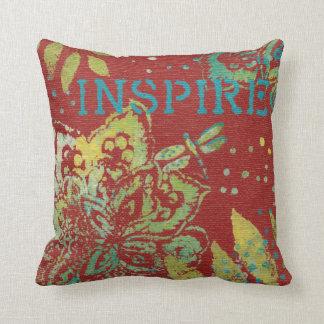 Cojín Decorativo Arte de la palabra - inspire