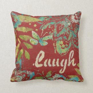 Cojín Decorativo Arte de la palabra - risa