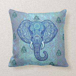 Cojín Decorativo Arte del señor-Ganesh-Elefante de la India