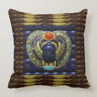 Cojín Decorativo Artes del templo del VINTAGE de las PIRÁMIDES de
