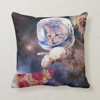 Cojín Decorativo astronauta del gato - gatos divertidos - gatos en