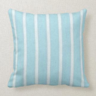 """Cojín Decorativo Azul y White_LARGE del Snuggle del """"amortiguador"""