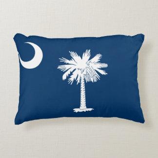 Cojín Decorativo Bandera de Carolina del Sur