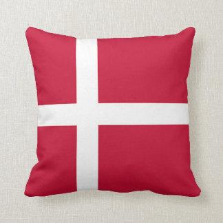 Cojín Decorativo Bandera de Dinamarca - cruz escandinava