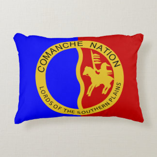 Cojín Decorativo Bandera de la nación del Comanche