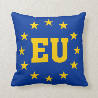 Cojín Decorativo Bandera de la UE, unión europea