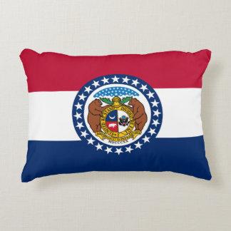 Cojín Decorativo Bandera de Missouri
