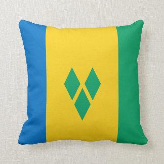 Cojín Decorativo Bandera de San Vicente y las Granadinas