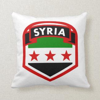 Cojín Decorativo Bandera de Siria