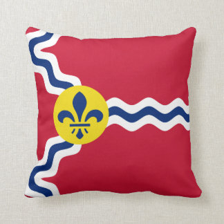 Cojín Decorativo Bandera de St. Louis, Missouri
