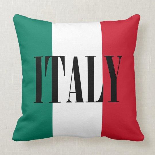 Cojín Decorativo Bandera del italiano de Italia Italia