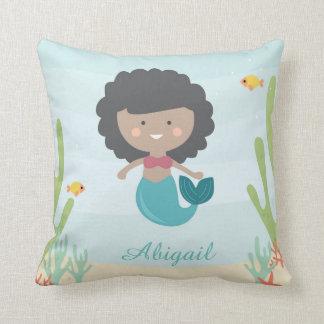 Cojín Decorativo Bebé de little mermaid/almohada de tiro de los