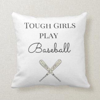 Cojín Decorativo Béisbol duro del juego de los chicas