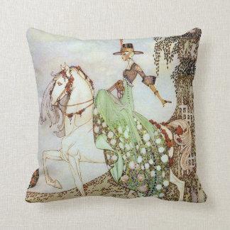 Cojín Decorativo Bella arte de princesa Minon-Minette Kay Nielsen