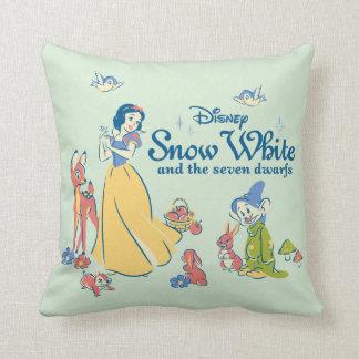 Cojín Decorativo Blanco como la nieve y narcotizado con los amigos