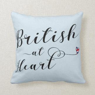 Cojín Decorativo Británicos en el amortiguador del tiro del