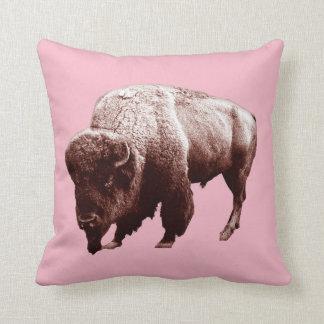 Cojín Decorativo Búfalo rosado