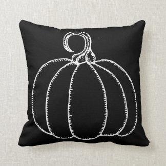 Cojín Decorativo Calabaza del feliz Halloween de la diversión
