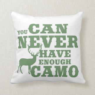 Cojín Decorativo Camuflaje del humor de la caza de los ciervos