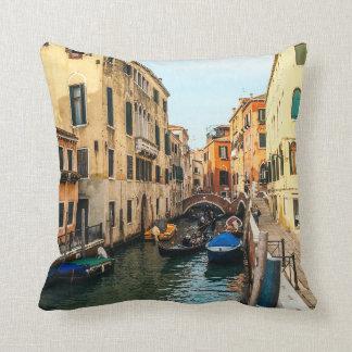 Cojín Decorativo Canales de Venecia