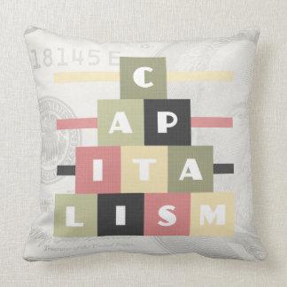 Cojín Decorativo Capitalismo