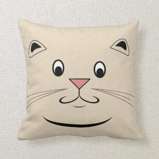 Cojín Decorativo Cara del gato del gatito