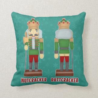 Cojín Decorativo Cascanueces divertido Buttcracker del navidad