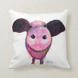 """Cojín Decorativo ¡Cerdos del cerdo Nosey los """"PUEDEN volar! """""""