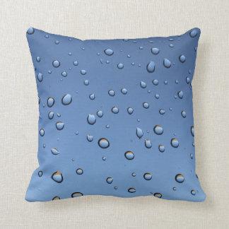 Cojín Decorativo Chapoteo del descenso del agua mojado