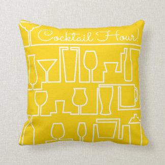 Cojín Decorativo Cóctel amarillo