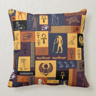 Cojín Decorativo Collage egipcio