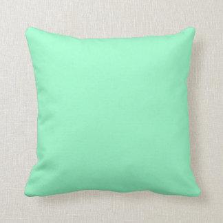 Cojín Decorativo Color de verde menta sólido