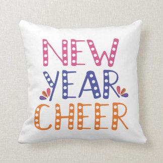 Cojín Decorativo Colores brillantes de la alegría ADAPTABLE del Año