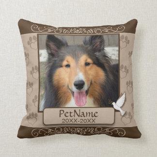 Cojín Decorativo Condolencia de encargo del mascota de los