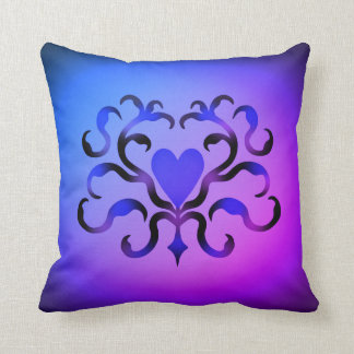 Cojín Decorativo Corazón adornado elegante