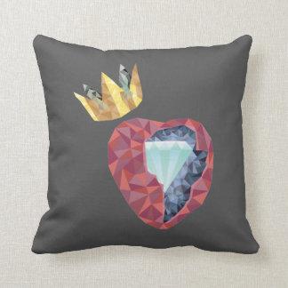 Cojín Decorativo Corazón geométrico