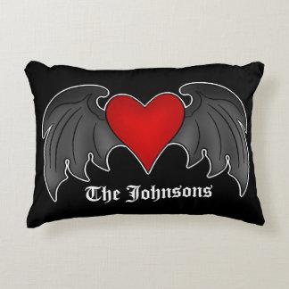 Cojín Decorativo Corazón gótico personalizado