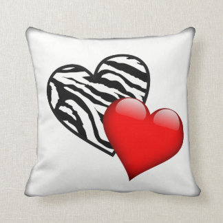 Cojín Decorativo Corazones del amor