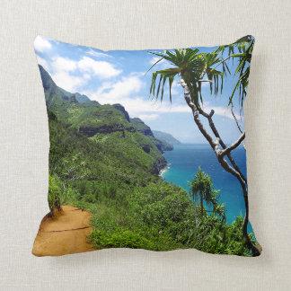 Cojín Decorativo Costa tropical Hawaii del Nepali de Kauai