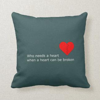 Cojín Decorativo Cuál es el amor consiguió hacer con él