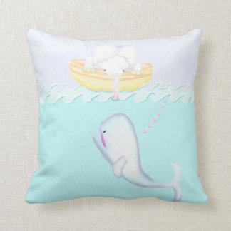 Cojín Decorativo Cuento de la ballena del elefante